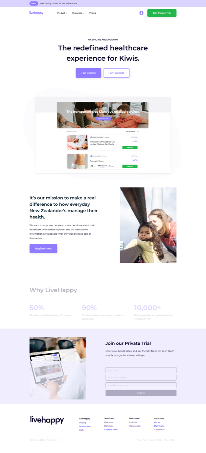 LiveHappy Home Page   Whāngarei's most SIMPLE Website Agency – Say hello 👋 to the most SIMPLE creative experience in Northland. – Web & Graphic Design Whangarei   Kerikeri   Bay of Islands   Rodney   Kaitaia   Far North