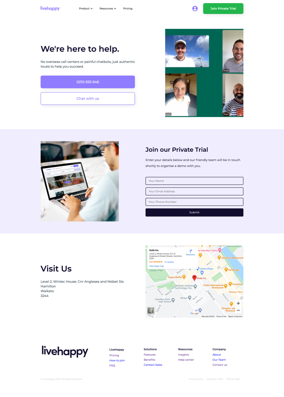 LiveHappy Contact Page   Whāngarei's most SIMPLE Website Agency – Say hello 👋 to the most SIMPLE creative experience in Northland. – Web & Graphic Design Whangarei   Kerikeri   Bay of Islands   Rodney   Kaitaia   Far North