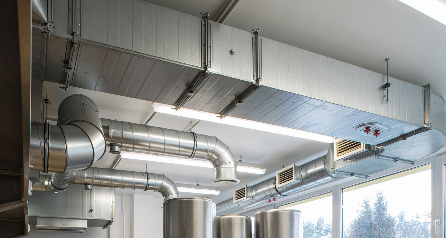 Metal Ductwork for Commectial HVAC System