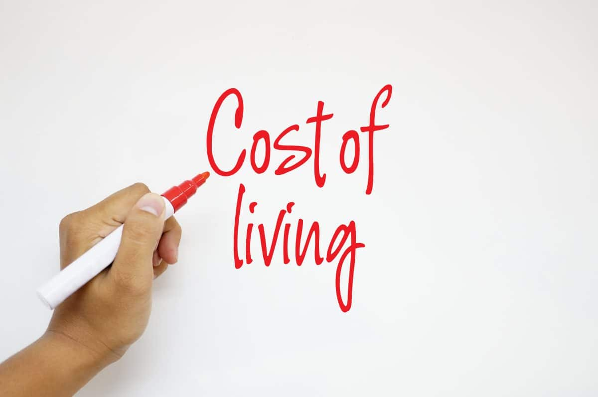 Cost of living compared