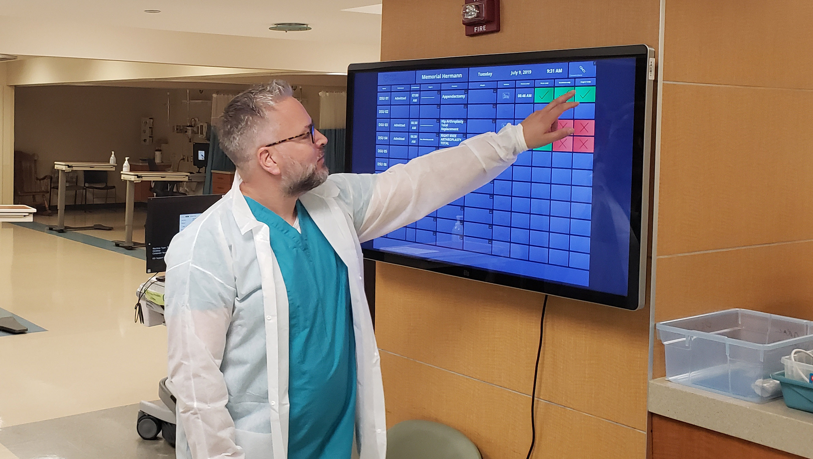 New compliance launches innovative OR monitoring system in Memorial Hermann