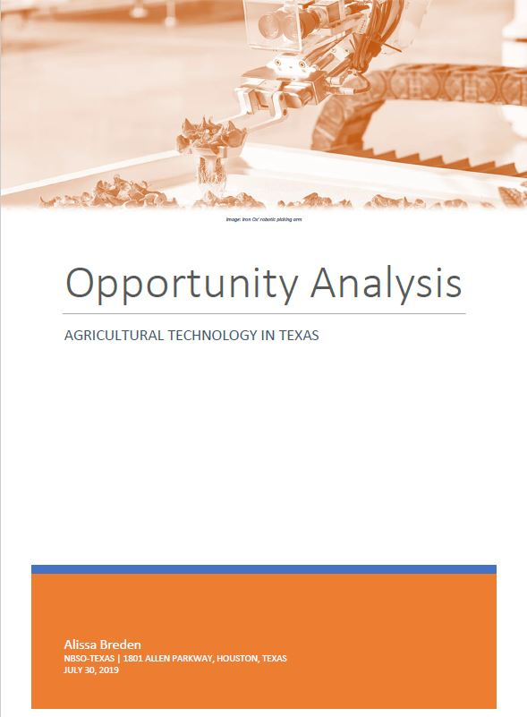 Agricultural Technology in Texas