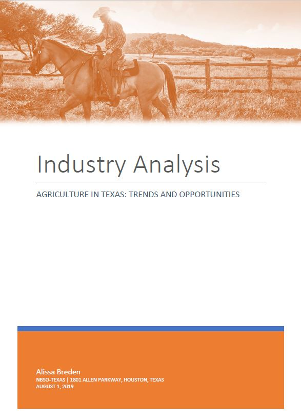 Industry Report - Agriculture
