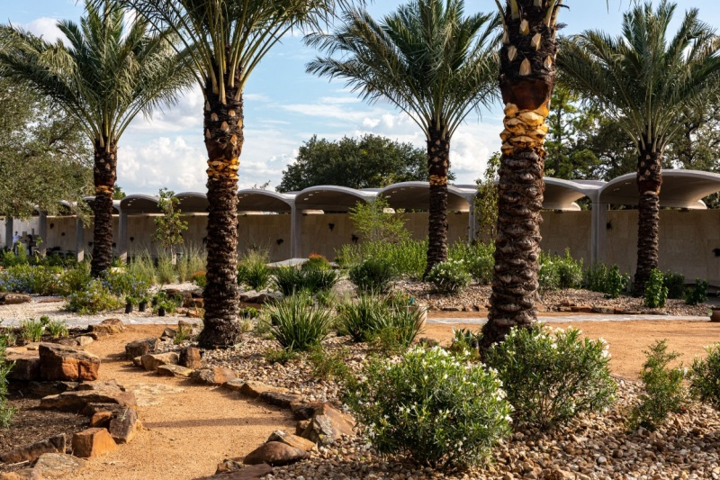 Dutch firm inaugurates the first phase of Houston Botanic Garden