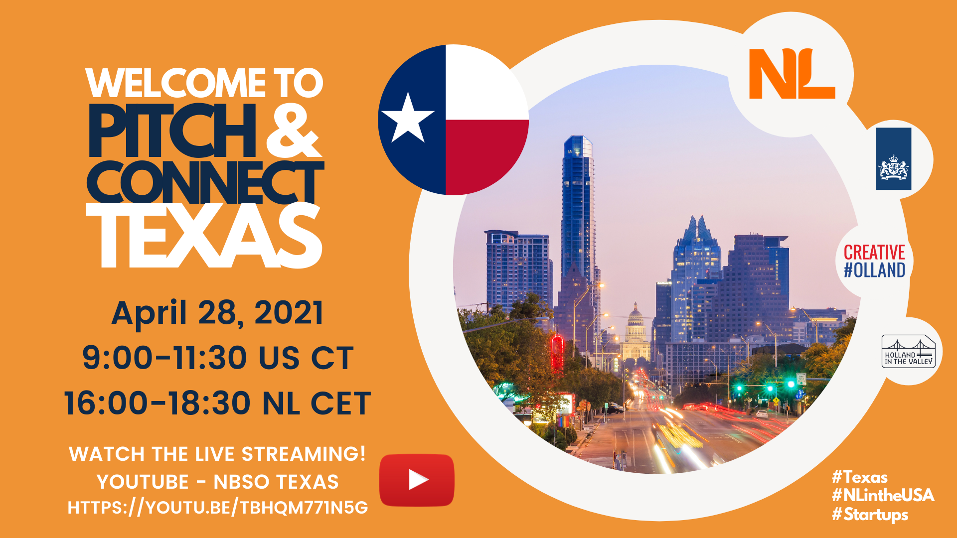 Pitch and Connect Texas
