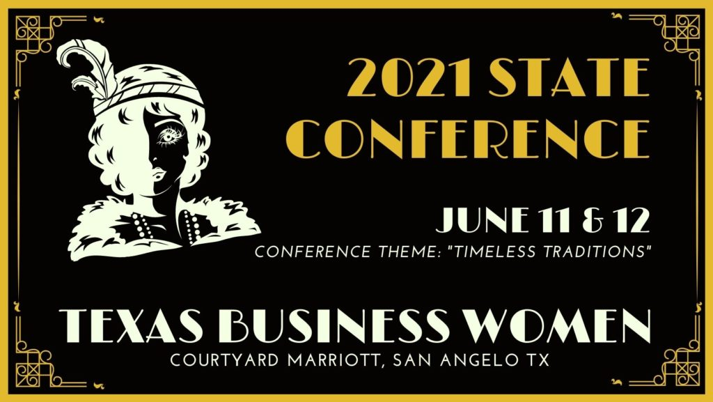 Texas Business Women State 2021 Conference