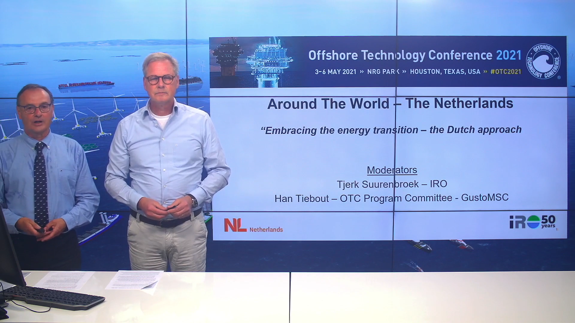 The Netherlands presented the latest offshore trends in OTC 2021