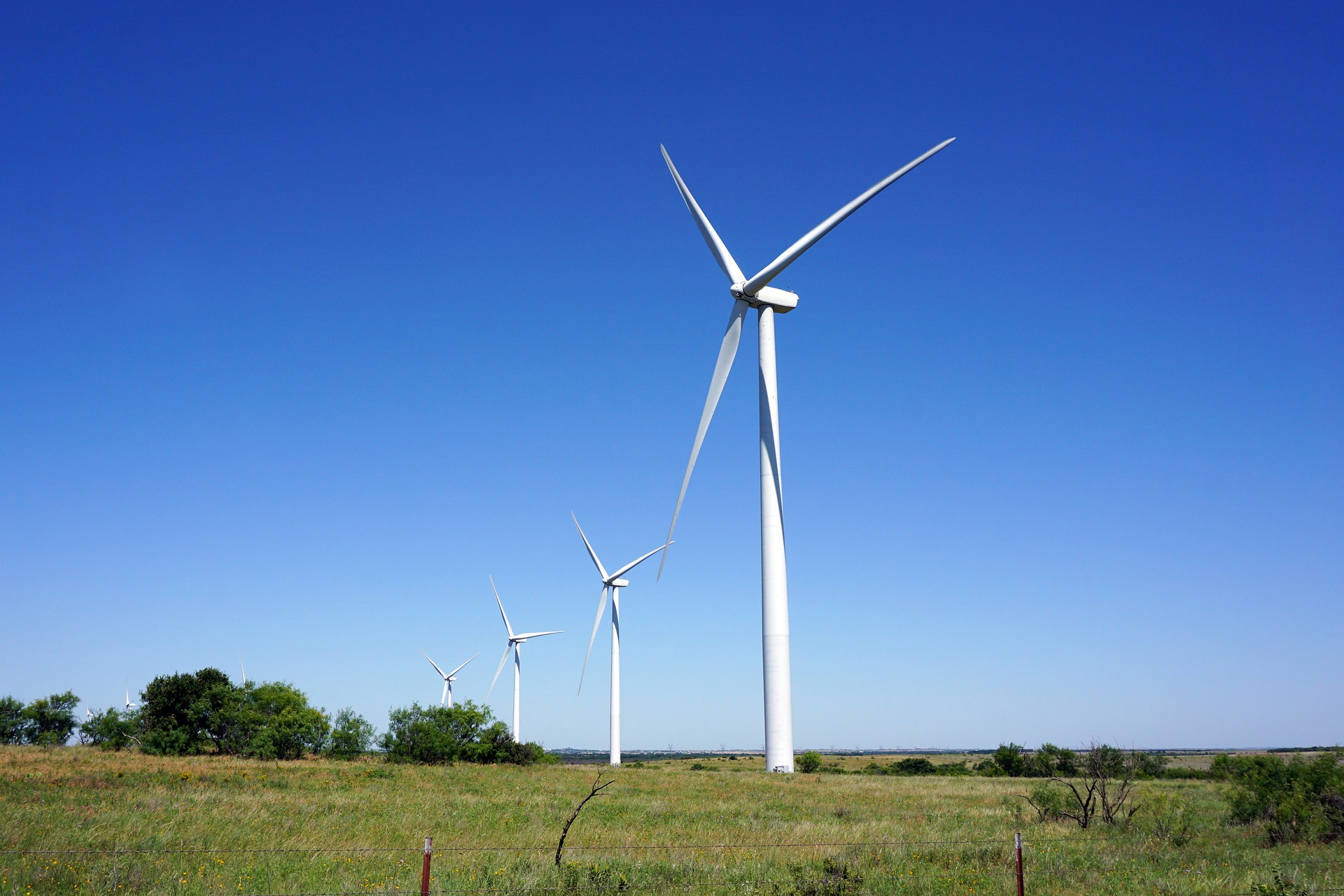 Texas is the nation's leader in wind capacity