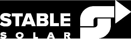 Stable Solar White Logo