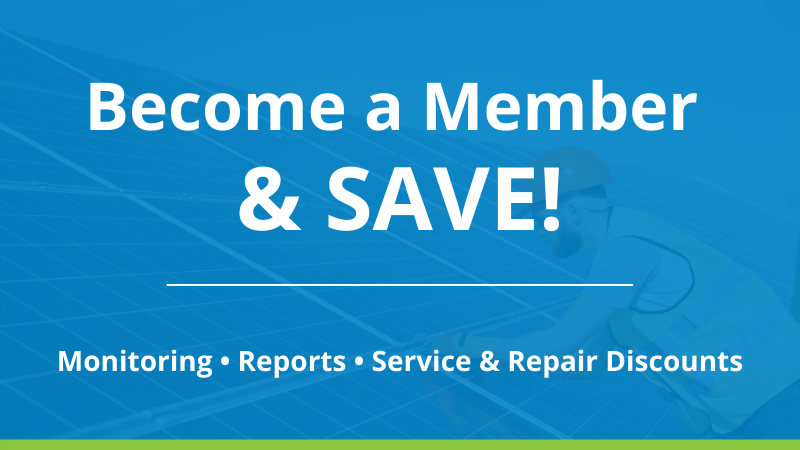 Solar Service Membership Plan