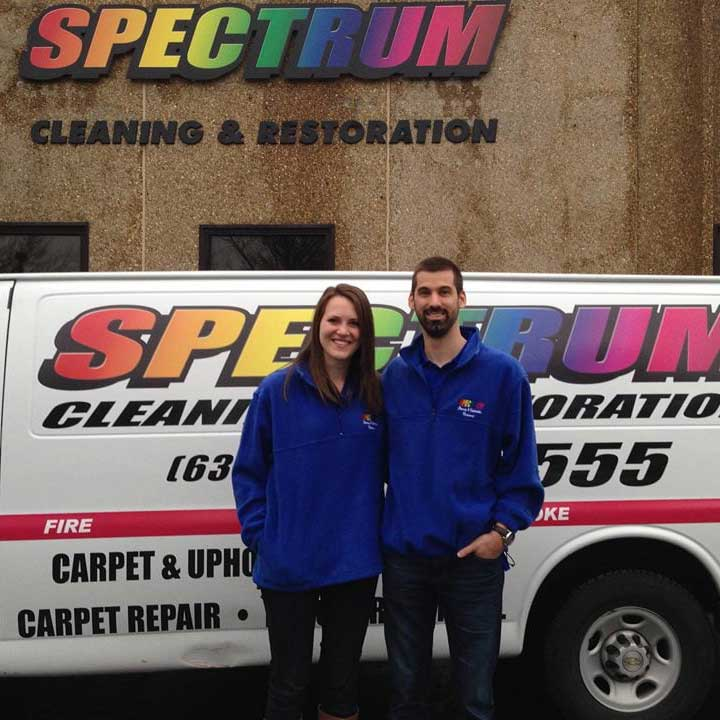 spectrum cleaning & restoration team