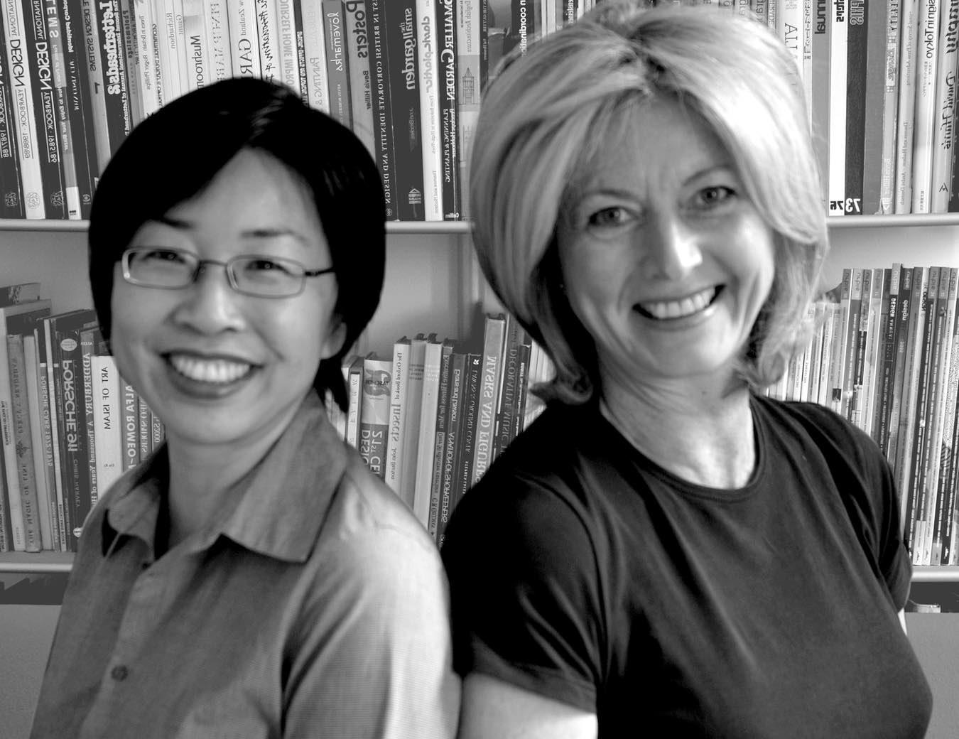 Susanna Stuart and Deborah Carlyon photo together