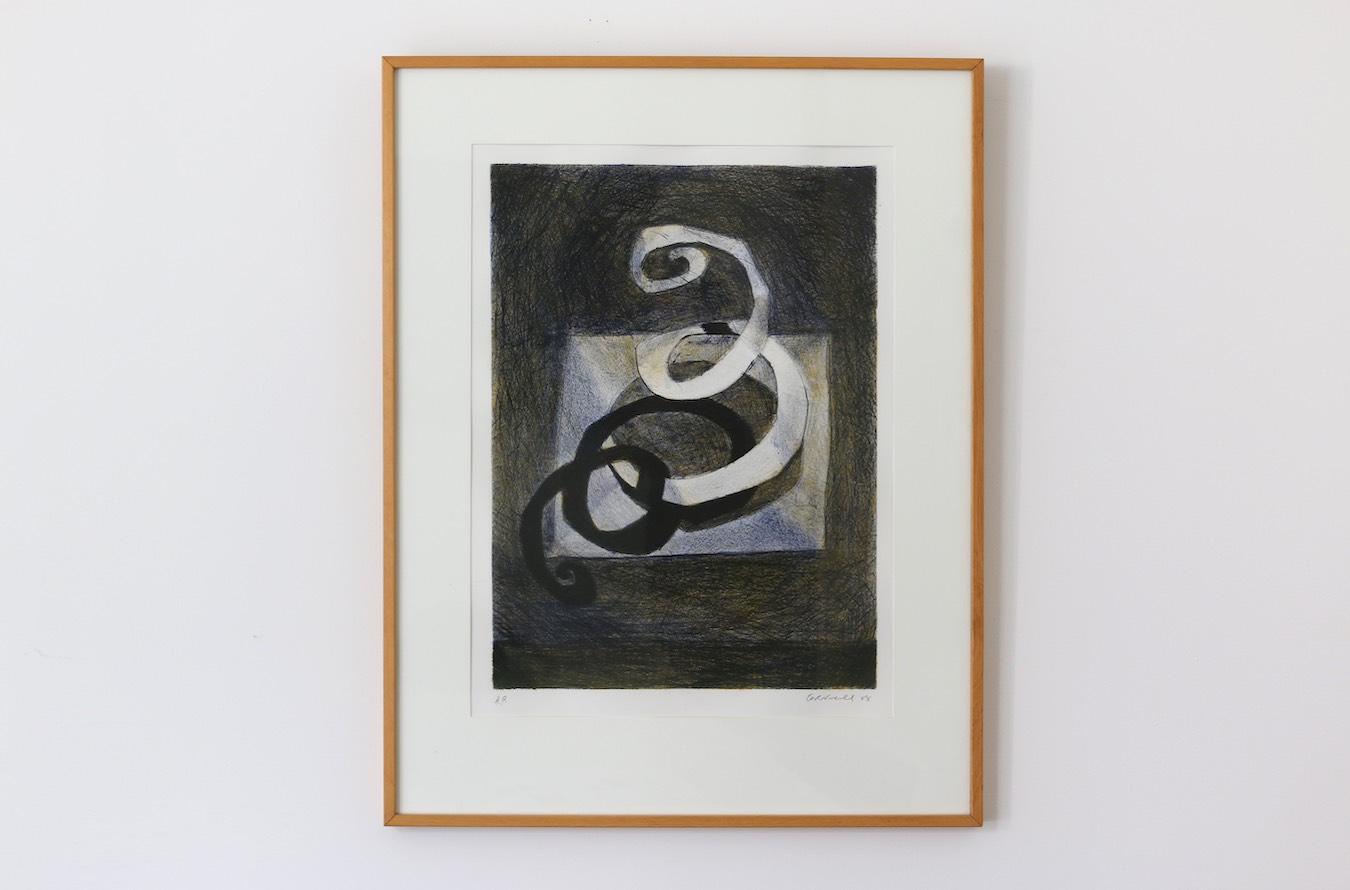 """Graeme Cornwell """"Untitled"""" – 1988 (screenprint)*"""