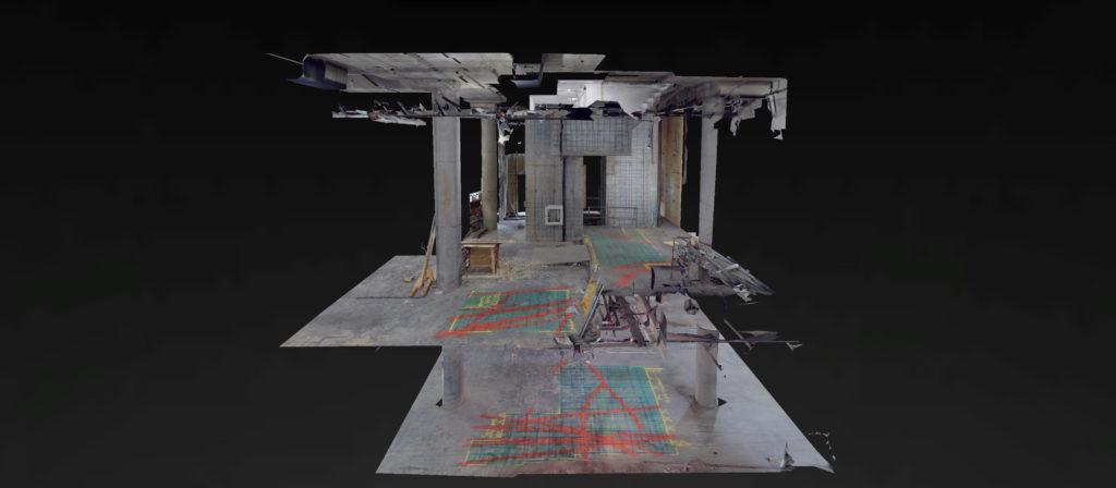 3d model of concrete inspection