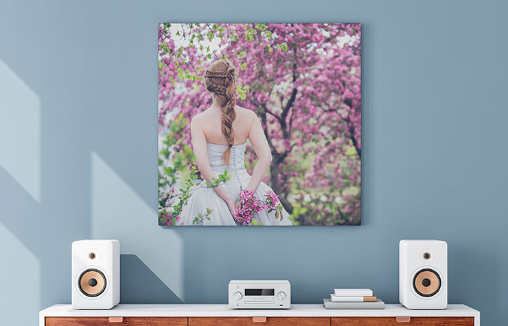Impression grand format & sur canvas