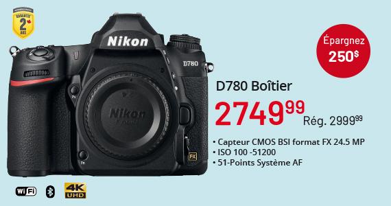 D780 Boitier