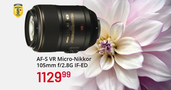 AF-S VR Micro-Nikkor 105m f/2.8G IF-ED