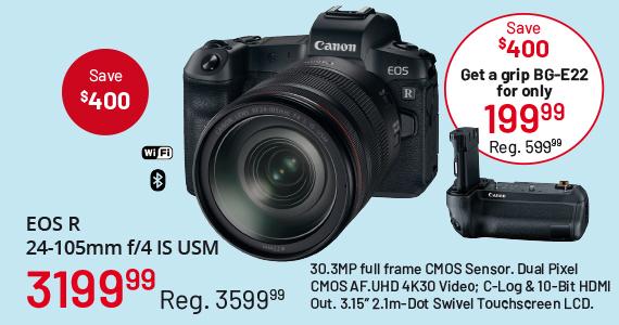 EOS R 24-105mm f/4 IS USM