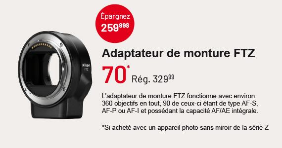 Mount Adapter FTZ