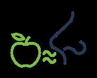 Smell Sensitivity for Apples