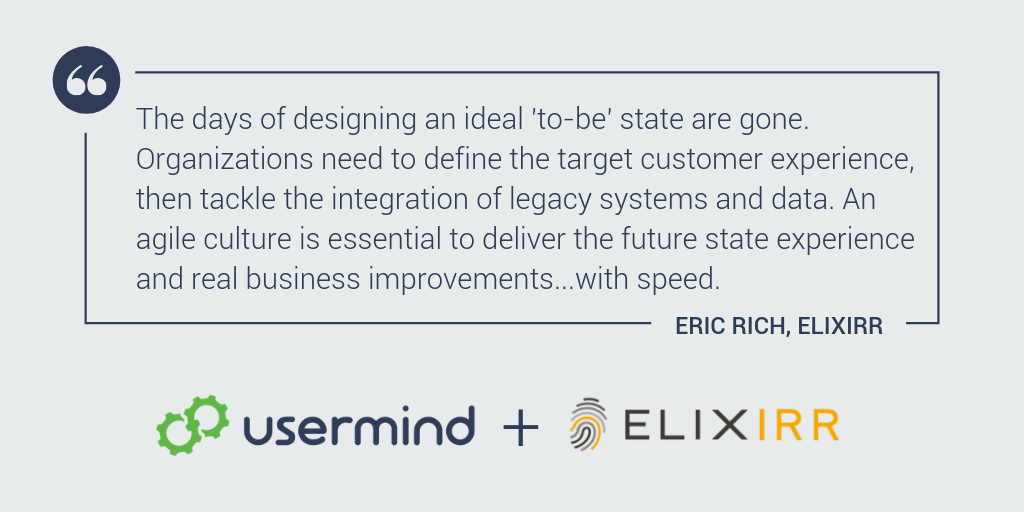 Elixirr and Usermind partner to help brands get more value from customer experience initiatives