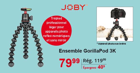 Joby Gorilla Pod 3K Ensamble