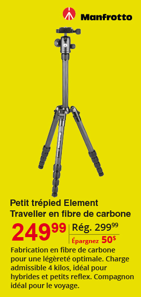 Manfrotto Traveller Carbon Tripod