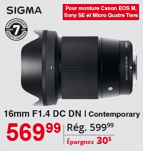 Sigma 16mm F1.4