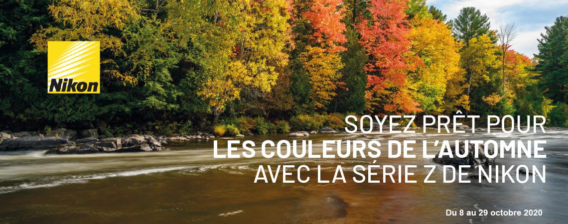 Soyez prêt pour les couleurs de l'automne
