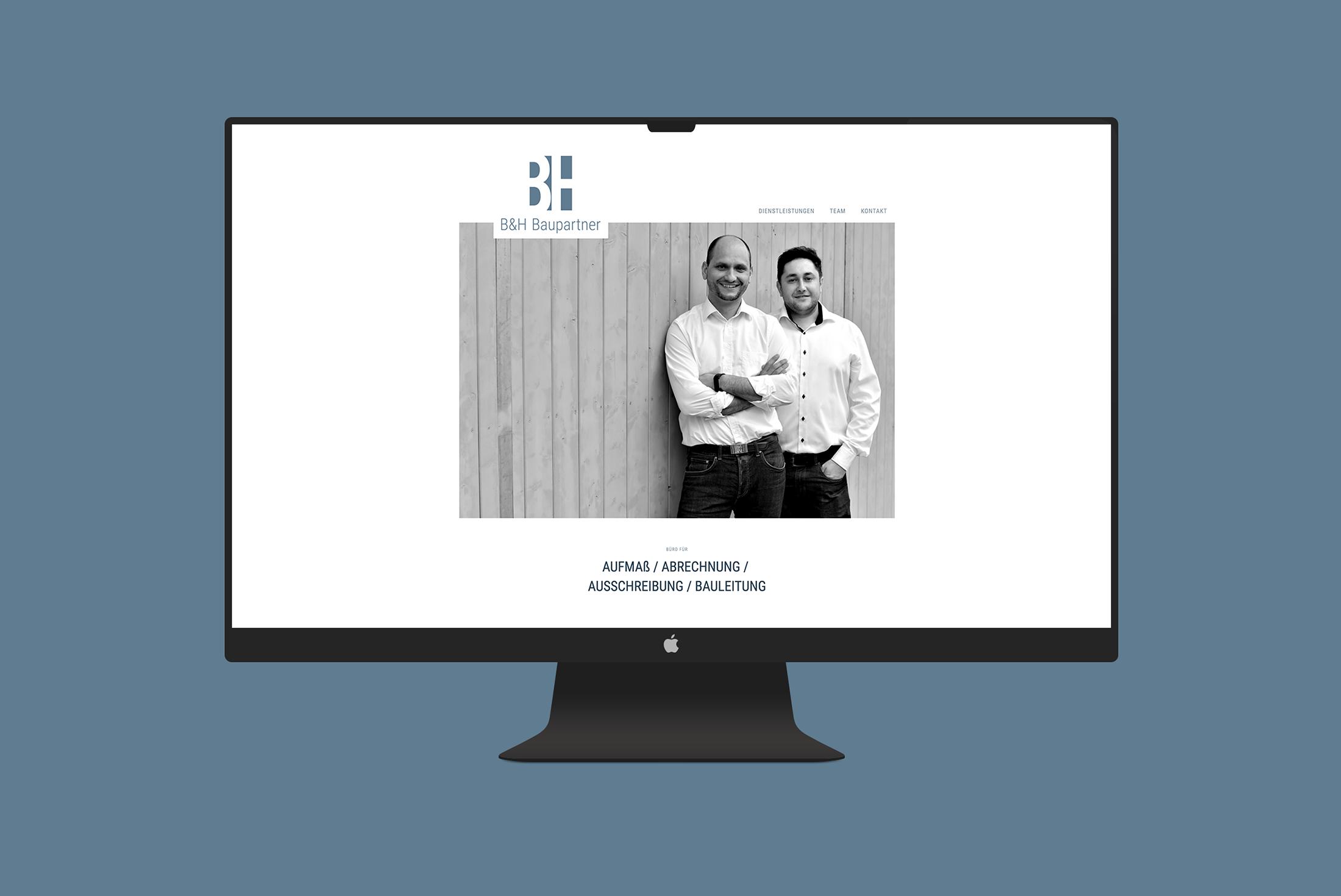 02d4a9535080e0 Website - B+H Baupartner - NP MARKETING