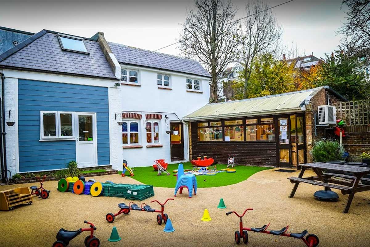 photo of Bear's House Nursery Brighton garden