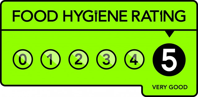 food hygiene logo - five stars