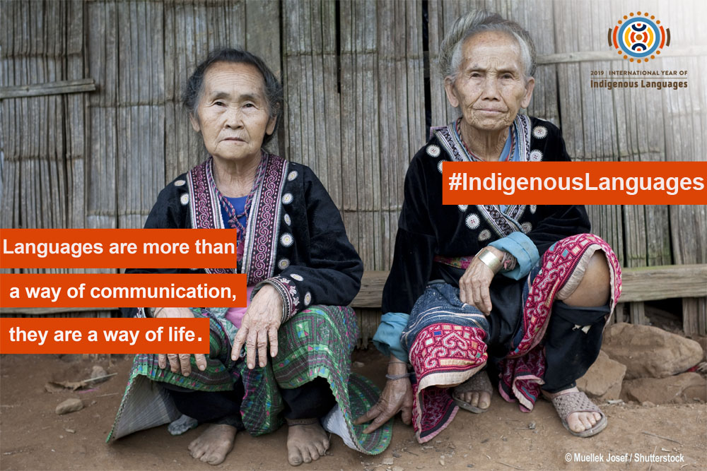 International Year of Indigenous Languages