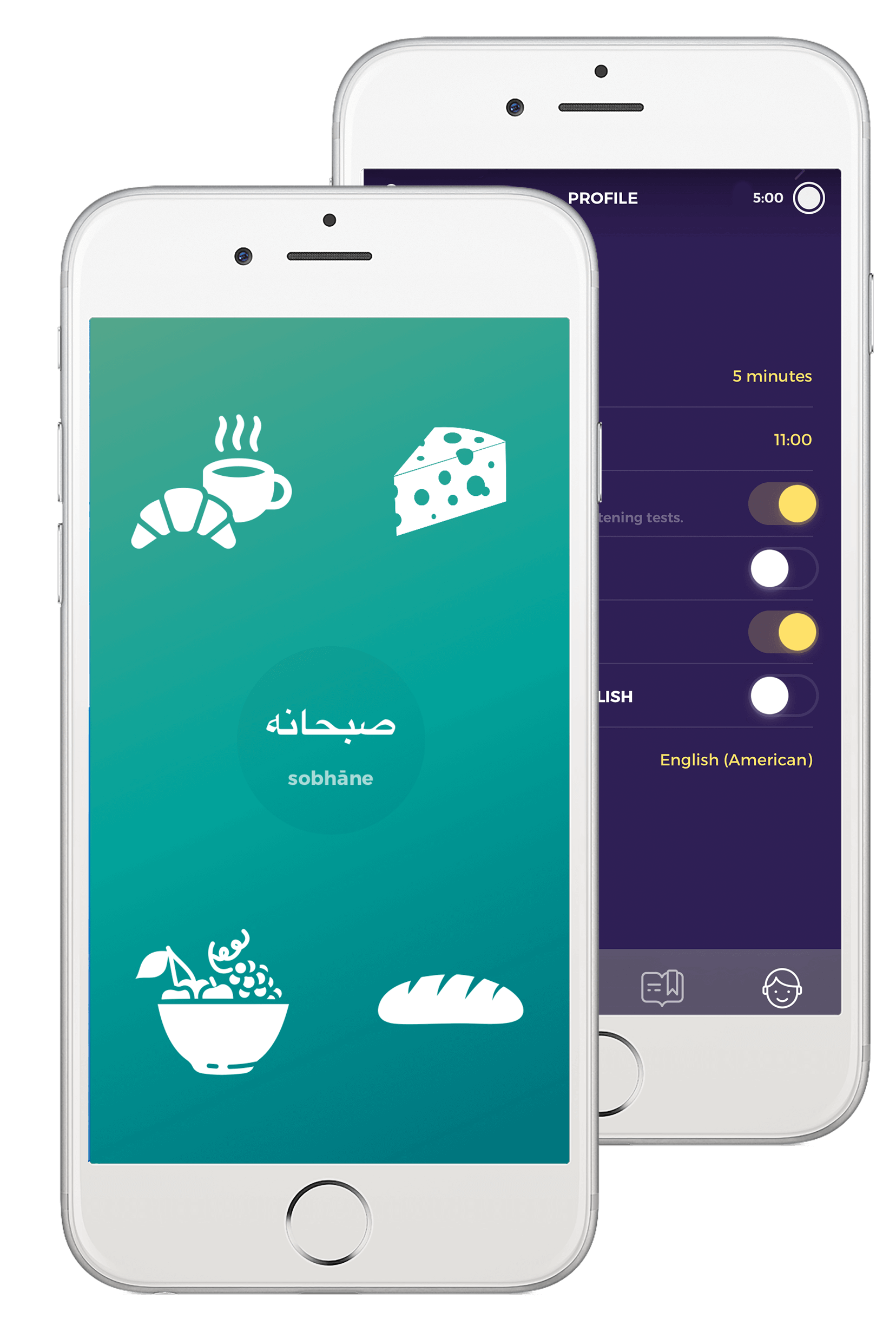 Learn Persian with Drops in fun, 5-minute learning sessions.