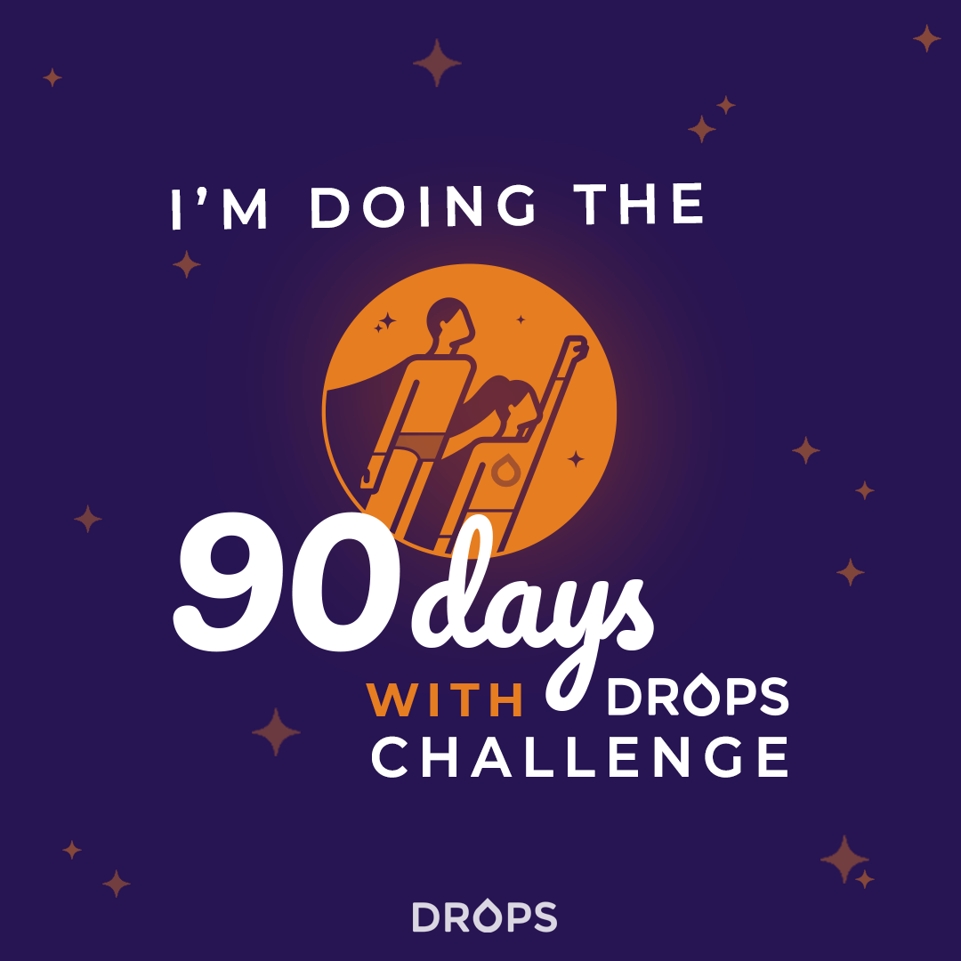 A Language Challenge Like No Other: #90DayswithDrops