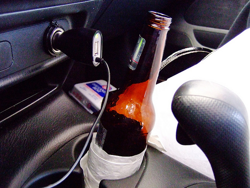 Open Container in Motor Vehicle