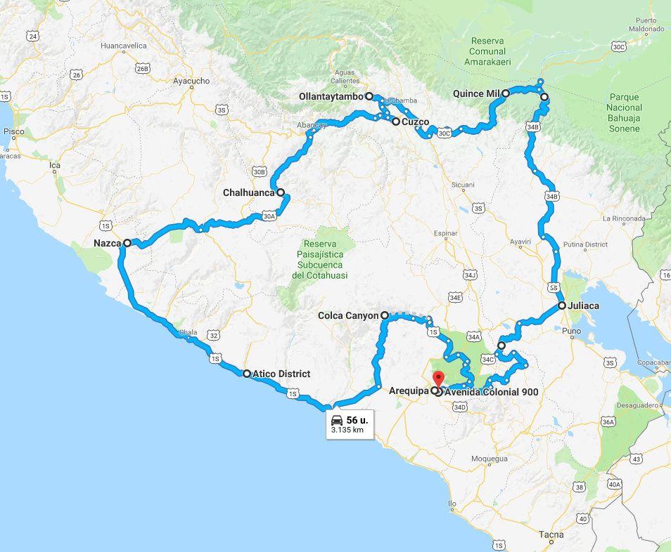 Zusammenfassung der Reise