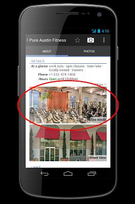 Google maps sur Android