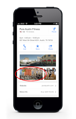 Google maps sur Apple Ios