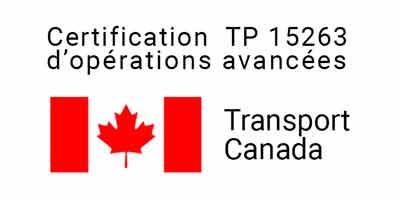 Advance Drone operation certificate TP 15263
