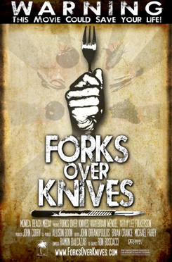 Forks Over Knives movie cover image - can click image to go to respective movie website