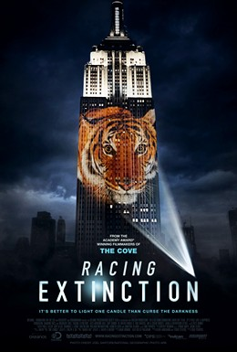 Racing Extinction movie cover image - can click image to go to respective movie website