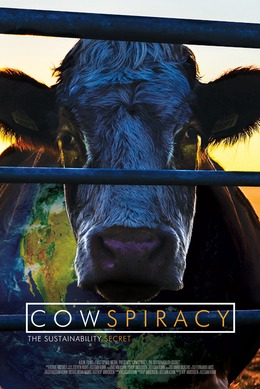 Cowspiracy movie cover image - can click image to go to respective movie website