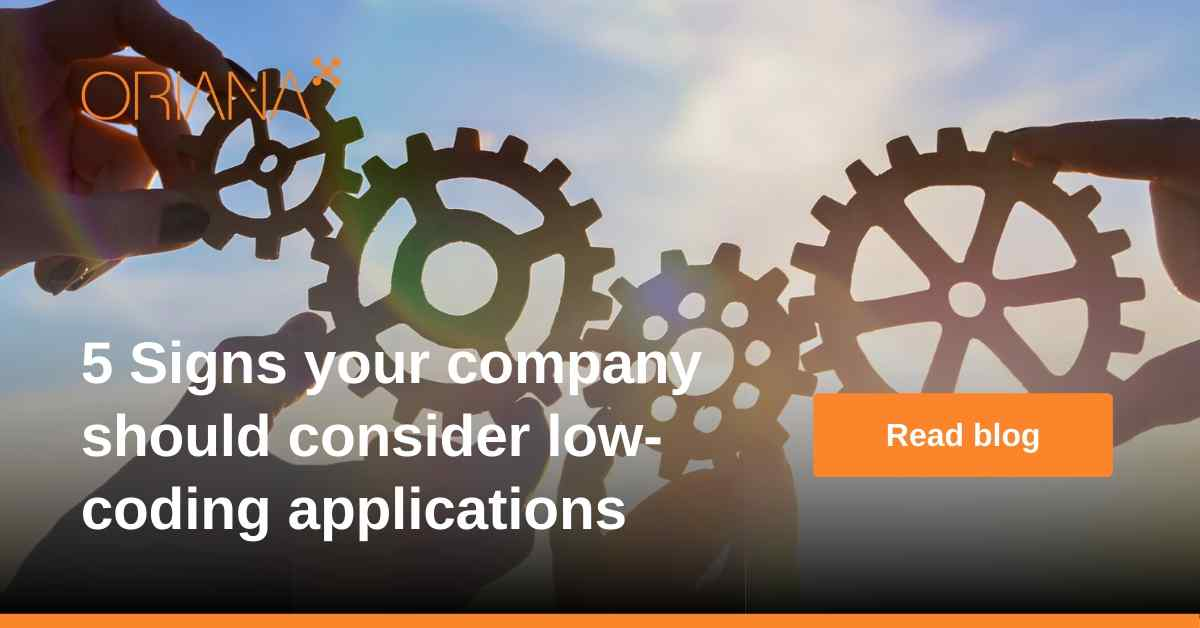 5 Signs your company should consider low-coding applications