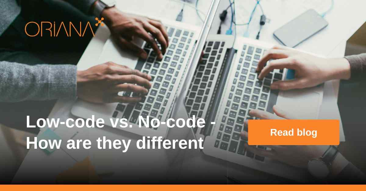 Low-code vs. No-code - How are they different