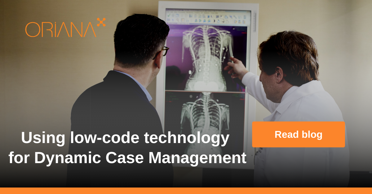 Using low-code technology for Dynamic Case Management Solutions