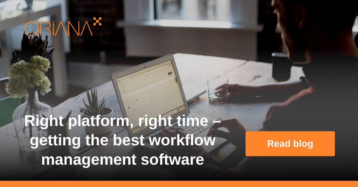 Right platform, right time – getting the best workflow management software