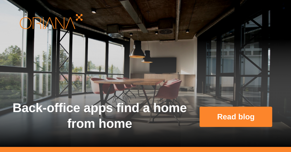 Back-office apps find a home from home