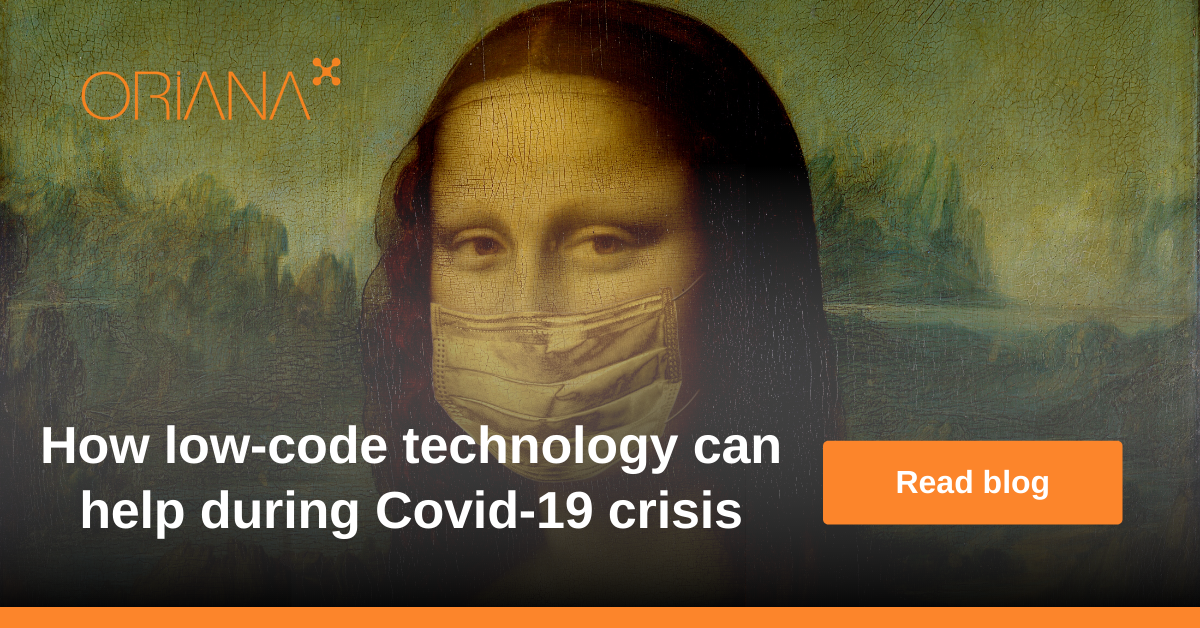 How low-code technology can help during Covid-19 crisis