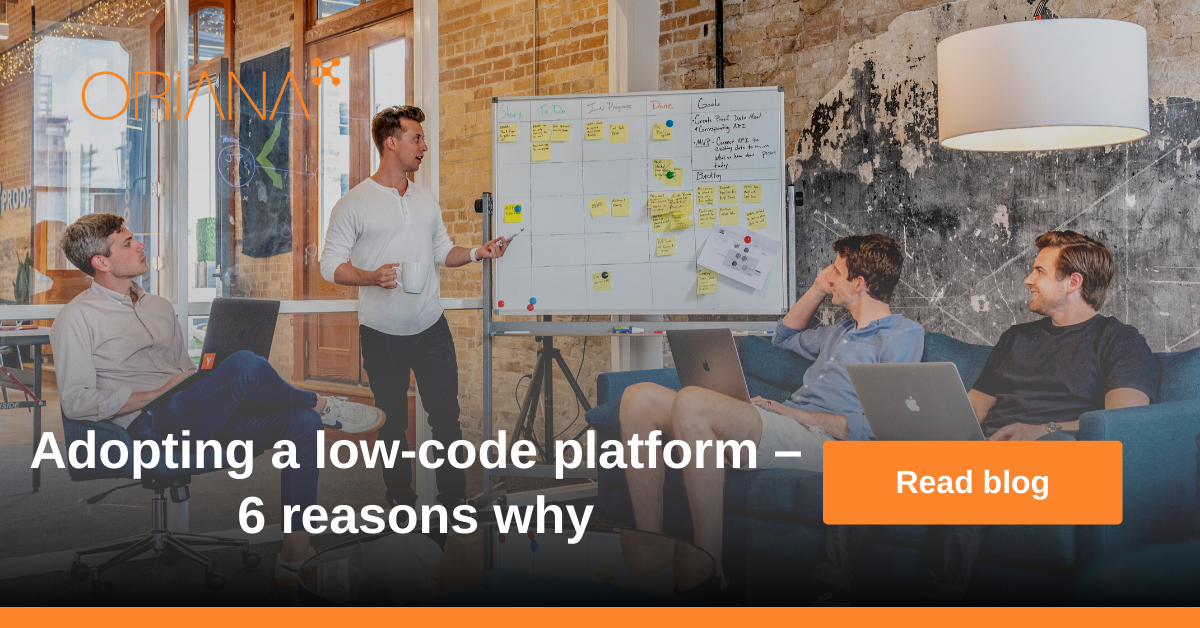 Adopting a low-code platform – 6 reasons why